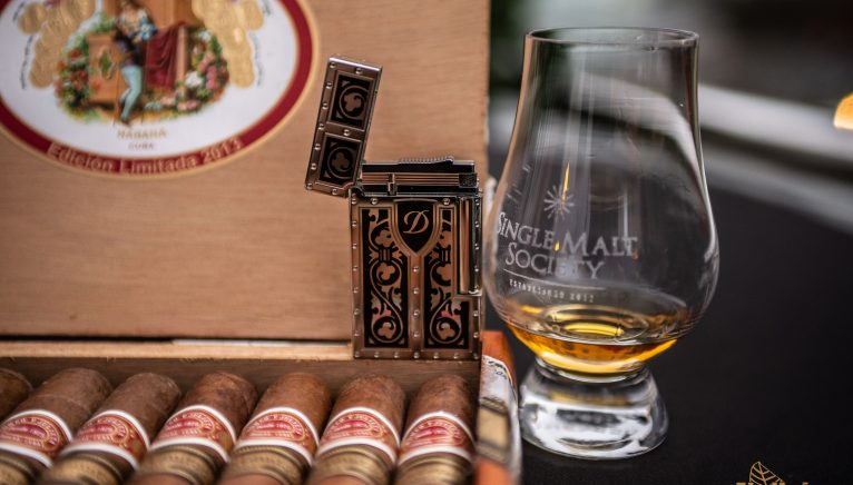 O nouă degustare marca Single Malt Society, un pairing reușit: single malt & trabucurile El Unico