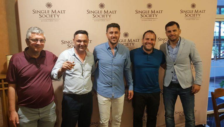 Degustare alături de personalități din lumea sportului, marca Single Malt Society