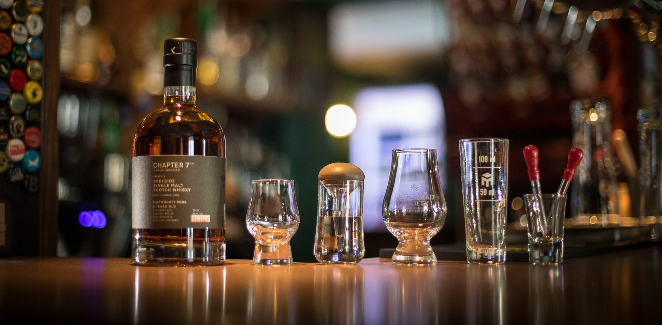 Atelier Cask Strength Whisky, workshop by Single Malt Society