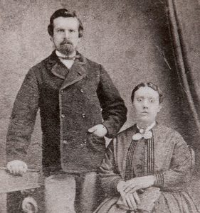 William Grant and wife 1886, photo credit: Pinterest