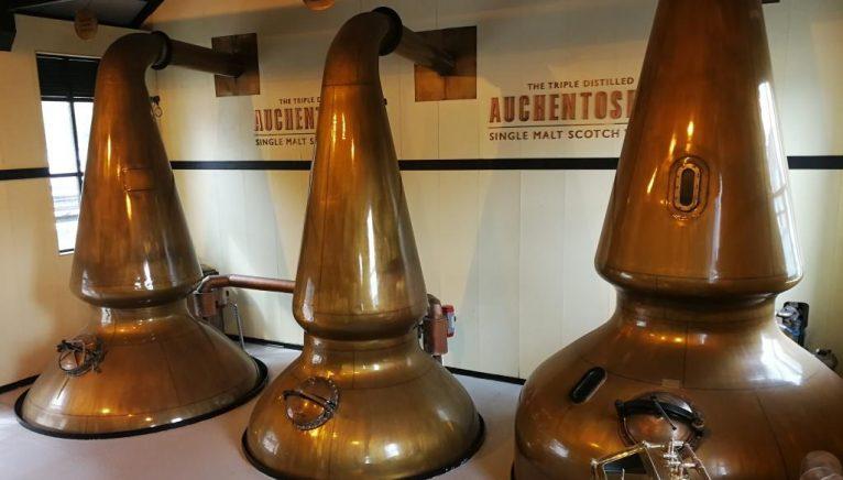Face tripla distilare whisky-ul mai blând?